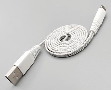 弹性手机充电线